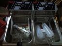 艾士奇(AISHIQI) 艾士奇電炸爐商用 單雙缸加厚小吃油炸鍋 炸串 炸薯條機 炸雞排 雙缸 實拍圖