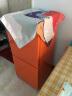 德努希125升风冷无霜 彩色冰箱 小?#22270;?#29992; 办公宿舍出租房 双门迷你 进出口日韩同步 BCD-125 橙色 晒单实拍图