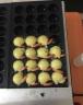 卓良 章魚小丸子機器電熱丸子機燃氣款雙板電熱魚丸爐章魚燒板商用章魚丸子機 單板-電熱款 實拍圖
