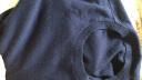 恒源祥女士羊絨衫純羊絨套頭毛衣保暖高領修身山羊絨毛衫女裝 2601半高領-黑色 170/L(120斤左右) 實拍圖