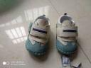 个个熊 童鞋宝宝学步鞋机能鞋 真皮软底婴儿学步鞋步前鞋 蓝色 21码/内长14cm