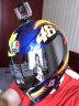 AGV頭盔鏡片 AGV  K3 K1 SV  K5黑色  電鍍藍  電鍍銀 SV    K1   K5透明鏡片 實拍圖