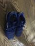 李寧(LI-NING)兒童成人男女足球鞋小學生男童碎釘TF訓練鞋皮足人造草地比賽訓練鞋ASTL039 039-3 晶藍色/基礎白 33碼 實拍圖