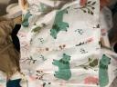 南極人嬰兒衣服薄款寶寶空調服純棉紗布新生兒內衣套裝家居服睡衣幼兒衣服夏季1-3歲男女童裝 菠蘿熊紗布套裝 100cm(建議2-3歲) 實拍圖