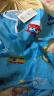 2019新品 兒童睡衣男童棉綢春夏季薄款兒童睡衣女綿綢長袖套裝寶寶家居服睡衣空調服 超級飛俠 60#適應身高(70-80cm) 實拍圖