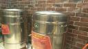 拓鈴 多功煮面桶商用液化氣燃氣煤氣煮面爐保溫高湯桶節能煮面鍋 45燃氣平底 實拍圖