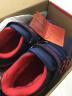 哈比熊童鞋男童秋冬款男童鞋子男大童棉鞋加絨冬季兒童運動鞋女童 深藍/紅(加絨) 36碼/23.1cm內長 實拍圖