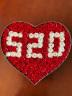 阿波羅之夢520心形香皂玫瑰花禮盒七夕情人節禮物鮮花速遞同城配送花束生日禮物女生送女友閨蜜老婆畢業禮物 實拍圖