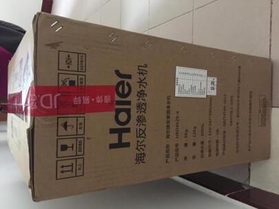 Re:亲身体验海尔净水器HRO6H66-3D雪魔方怎么样呢??评测海尔净水器HRO6H66-3D质量 ..
