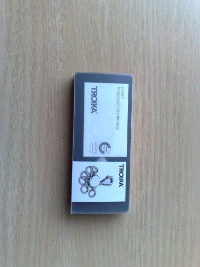 德国拓意卡(TROIKA) 可拆卸金属多环钥匙扣 数据天才 晒单图
