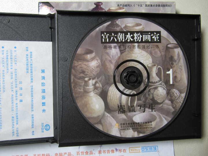 宫六朝水粉画室 器皿写生 2VCD