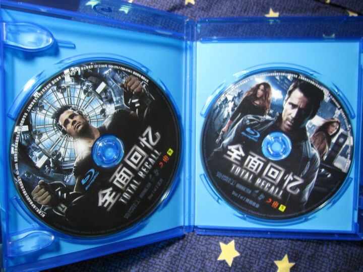 全面回忆(蓝光碟 BD50+BD25)(网络销售版) 晒单图