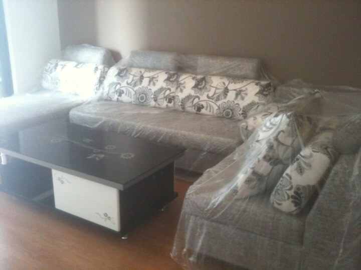 你好家 客厅沙发 u转超大角组合沙发 可分开摆放 大中小户
