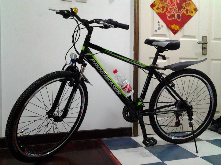 上次的BUG价自行车,我可赶上这波了。DANATH 岱纳森 26寸 山地自行车