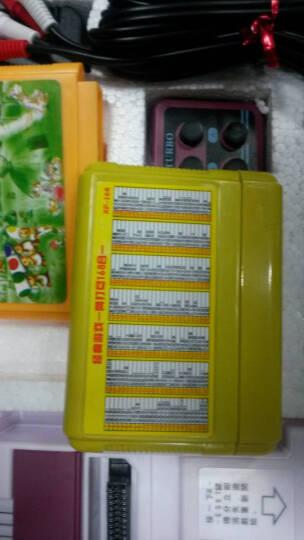 小霸王电视游戏机D99怀旧经典8位FC红白机电玩双人手柄插经典游戏卡魂斗罗超级玛丽 主机+168合1卡 晒单图