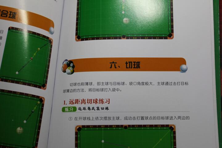 小马哥教你打台球:中式8球实用练习法 晒单图
