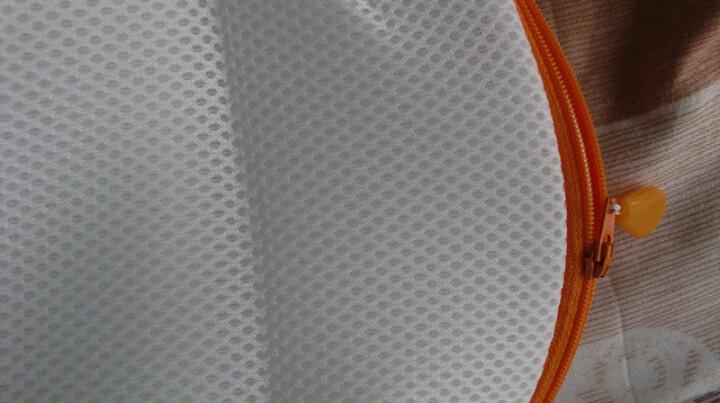 进口衬衣毛巾被内衣文胸洗衣袋洗涤网洗衣网洗护袋清洗袋 (柔质衣物)方形细网W-284 晒单图