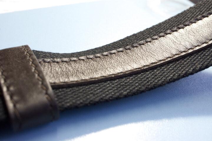 Bottega Veneta BV宝缇嘉 男士深棕色牛皮编制单肩斜挎包 276357 V465C 2066 晒单图