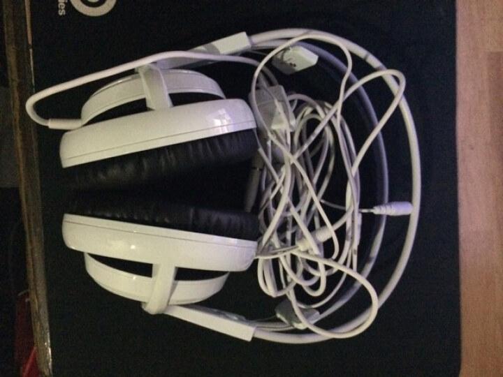 赛睿(SteelSeries)西伯利亚v2 耳机 白色--与V1