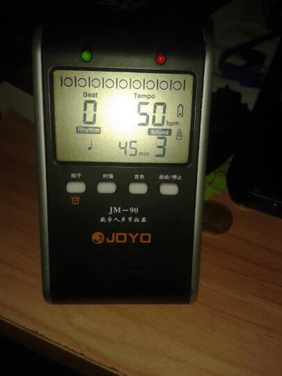 卓乐 JOYO 电子节拍器充电式 数字人声节拍器 钢琴节拍器 乐器通用 JM-90 晒单图