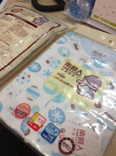 南极人儿童卫衣男女宝宝外出打底衫秋款男女童T恤套头上衣 绒绒星星-灰粉蓝 80cm 晒单图