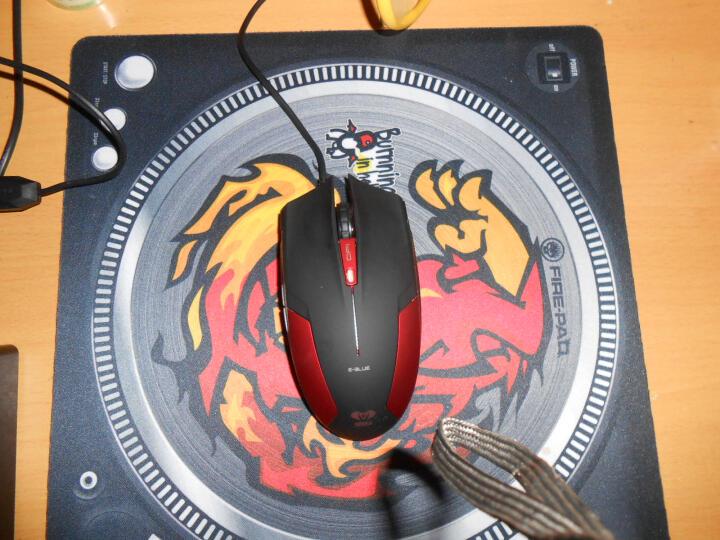 地狱火(FIRE-PAD) 鬼舞 加厚 游戏办公皆可 大尺寸 鼠标垫 自营 晒单图