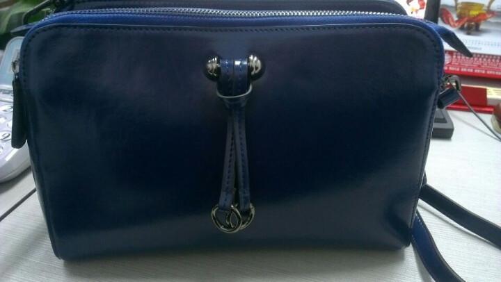 [晒单帖]妙迪蓝色包包