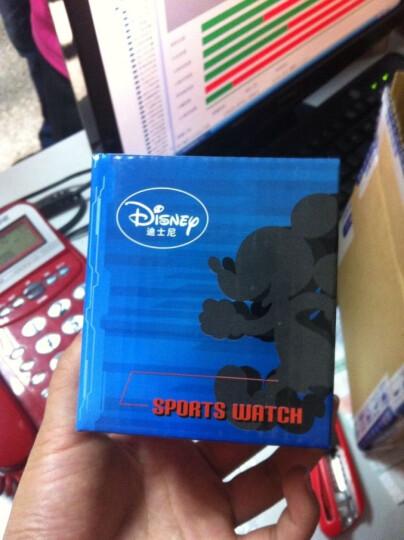 迪士尼(Disney)中学生电子表儿童手表男孩防水运动夜光带日历迪斯尼男童米奇手表 大号蓝色 晒单图