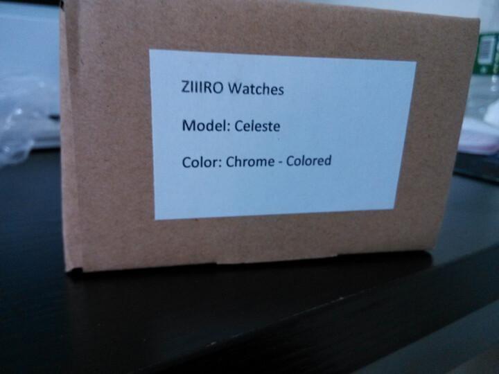 德国ZIIIRO Celeste天空系列男士手表男学生时尚炫酷个性创意梦幻概念手表渐变无指针手表女 灰兰黑 统一 晒单图