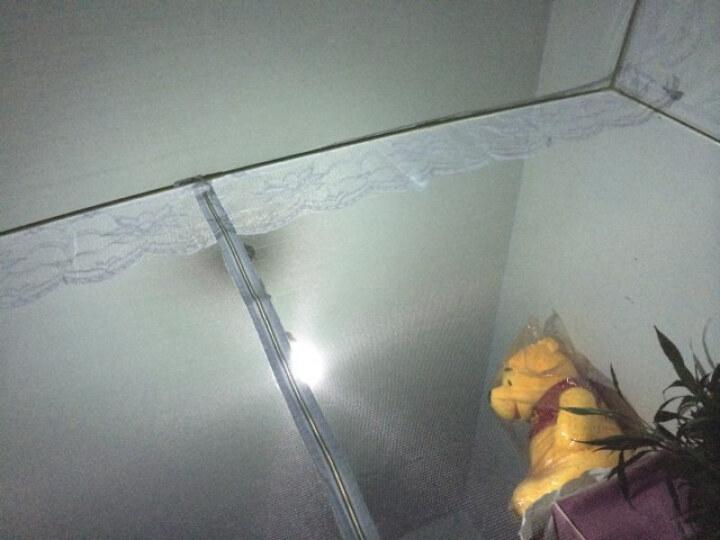 思侬家纺 双开门拉链式方形蚊帐 1.8米双人床有