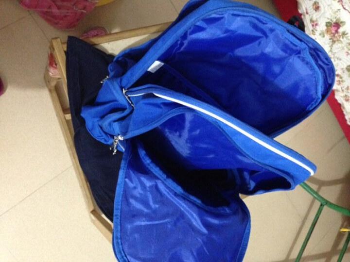 谢霆锋蓝色背包