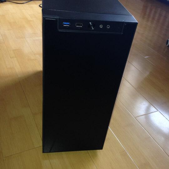 乔思伯(JONSBO)QT01 黑色 中塔式机箱(支持ATX主板/静音机箱/前面板铝饰板/汽车隔音材料/长显卡支撑架) 晒单图