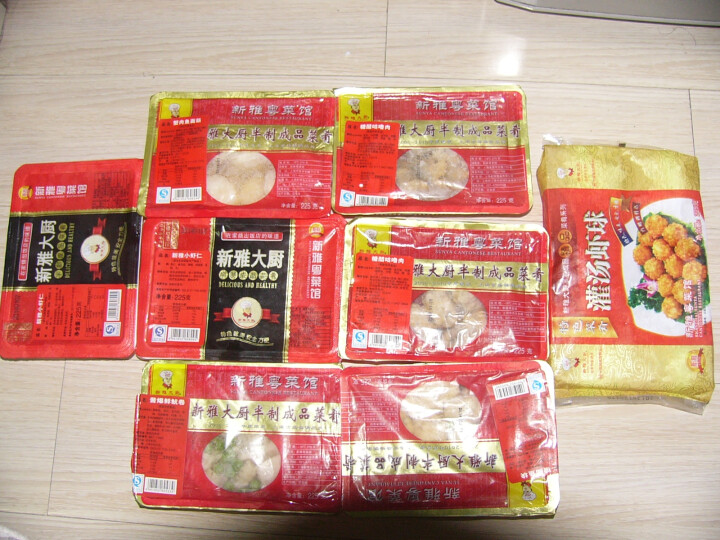 新雅粤菜馆冷冻料理包八宝辣酱225g 调理包速食半成品方便菜肴 晒单图