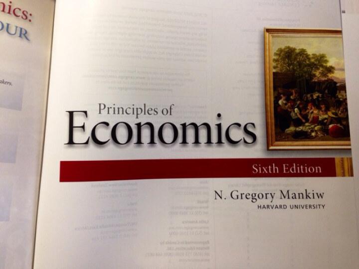 Principles of Economics, International Edition 晒单图