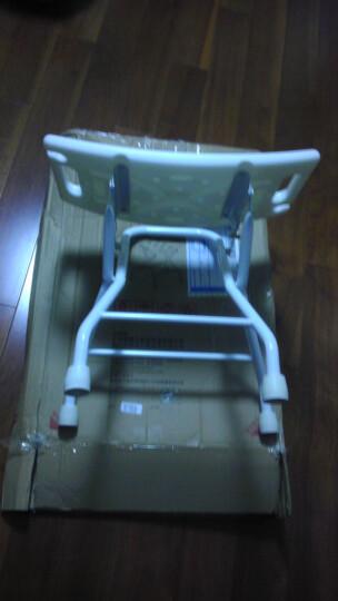 海山 洗澡椅浴室椅子洗澡凳老人洗浴凳沐浴凳洗浴椅 不锈钢款 晒单图
