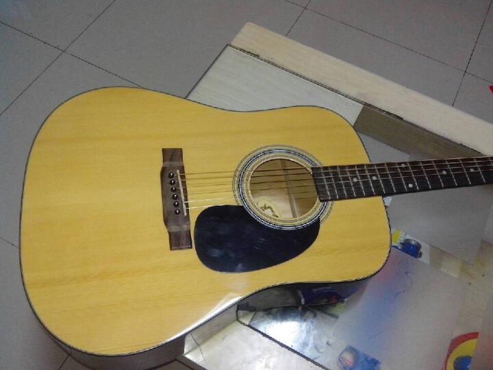 Jackson 民谣木吉他 木色圆角吉他 箱琴 六弦琴 D-9 送教材 晒单图