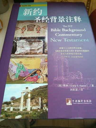 圣经图书馆:新约圣经背景注释 晒单图