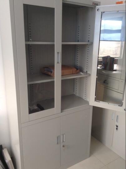 兴圣文件柜系列对开办公文件柜 钢制文件柜 铁皮柜 资料柜 晒单图