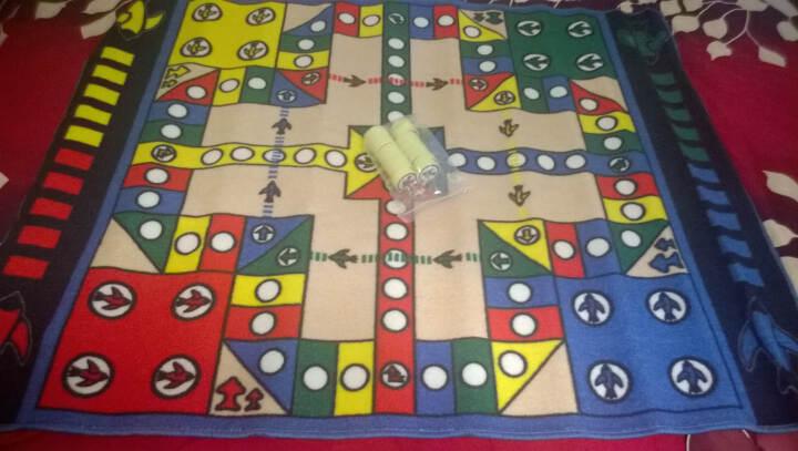 惠多 大富翁游戏地毯 环保儿童游戏垫 吸水防滑大号 跳棋地毯 象棋儿童地毯 围棋 晒单图
