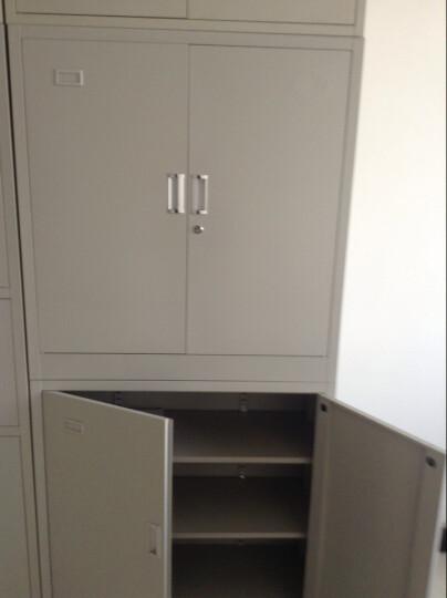 兴圣文件柜系列两节办公文件柜 钢制文件柜 铁皮柜 资料柜 晒单图