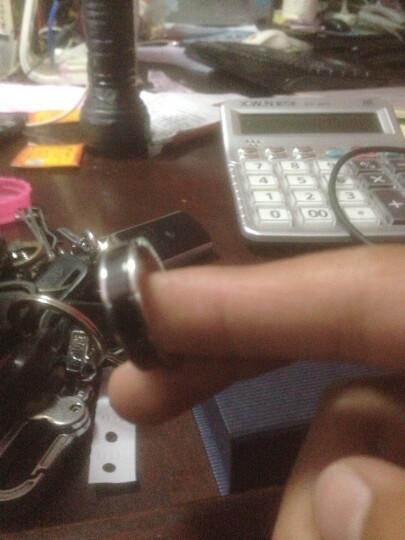 泰腾尼黑道钛钢戒指日韩版潮男个性时尚个性时尚男士指环食指中指无名指单身戒子学生白领首饰品 尺码25号 晒单图