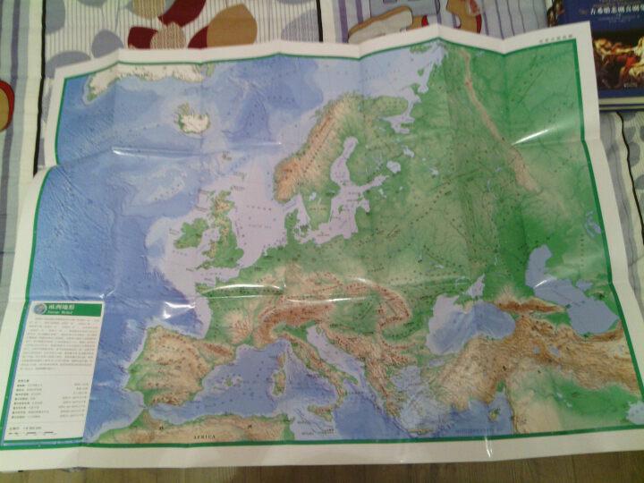 中英文欧洲地图