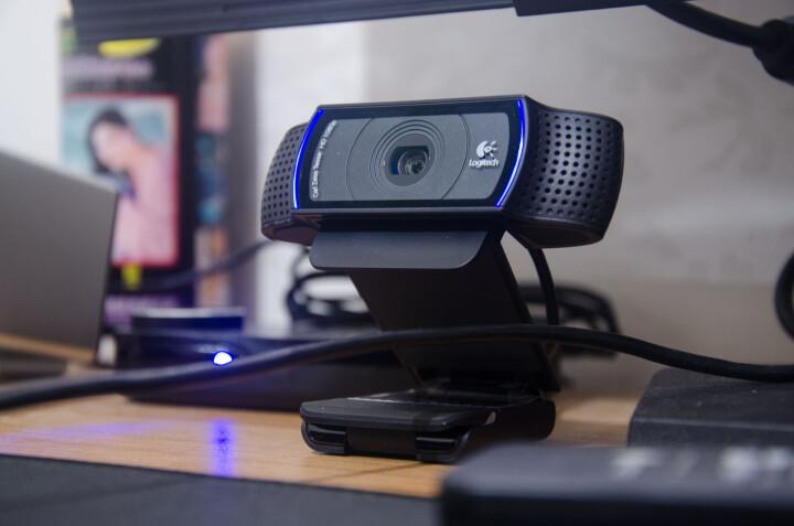 罗技(Logitech)Pro C920 高清网络摄像头 黑色 晒单图