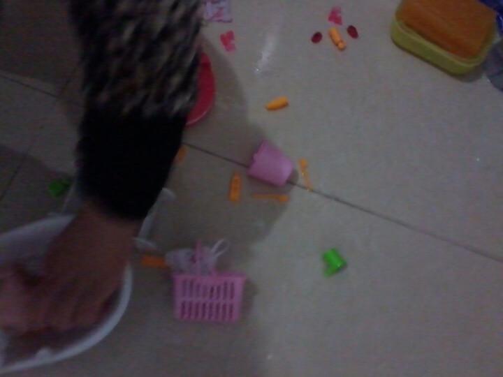 DDUNG/冬己 韩国迷糊娃娃玩具饰品摆件女孩过家家益智玩具 樱桃妹妹 晒单图