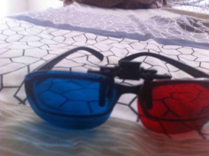 时尚立体眼镜电脑电视电影院近视眼镜3D夹片