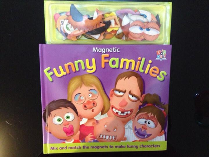 Magnetic Funny Families有趣的一家磁铁书 晒单图