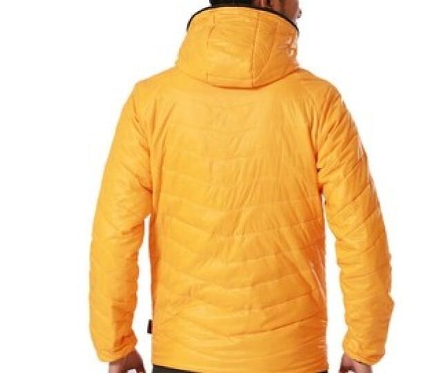 33000ft户外男女棉服轻保暖棉衣防泼水透气 男橙黄 男2XL 晒单图