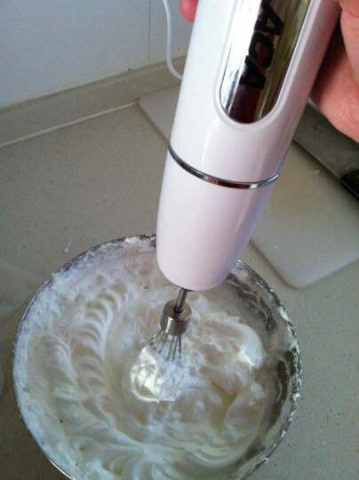北美电器(ACA)料理机手持家用多功能婴儿辅食打蛋榨汁绞肉奶昔研磨AHM-PE350A 晒单图