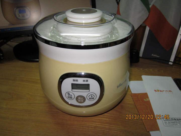 小熊(Bear)米酒酸奶机 家用全自动蜜罐陶瓷内胆 酸奶发酵菌  微电脑定时 SNJ-530 晒单图
