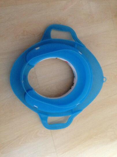 蔓葆 儿童辅助座便器/马桶圈/马桶盖/马桶垫(注:新款无挂钩) 海洋蓝 晒单图